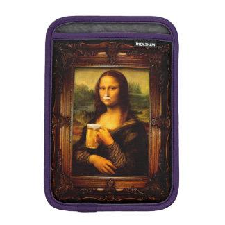Mona Lisa - Mona Lisa Bier - lustiges Mona Sleeve Für iPad Mini