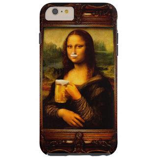 Mona Lisa - Mona Lisa Bier - lustiges Mona Tough iPhone 6 Plus Hülle