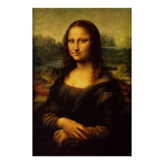 Mona Lisa (perfekte Qualität) Poster