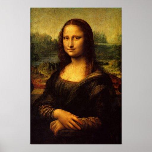 Mona Lisa (perfekte Qualität) Plakatdrucke