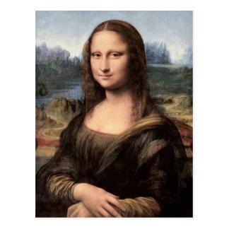 Mona Lisa Porträt/Malerei Postkarten