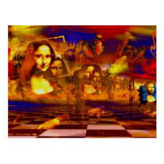 Mona Lisa Postkarten