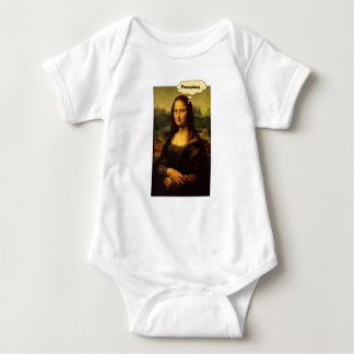 Mona Lisa Stachelschweine Baby Strampler