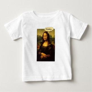 Mona Lisa Stachelschweine Baby T-shirt