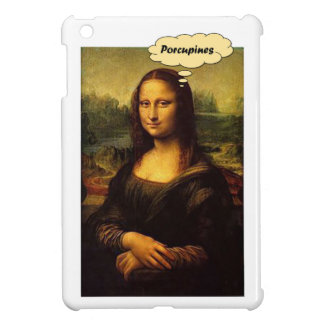Mona Lisa Stachelschweine iPad Mini Hülle