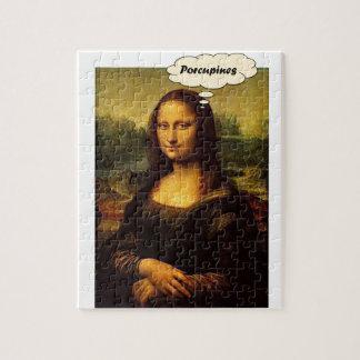 Mona Lisa Stachelschweine Puzzle