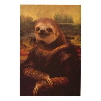 Mona Lisa Trägheit Holzleinwand