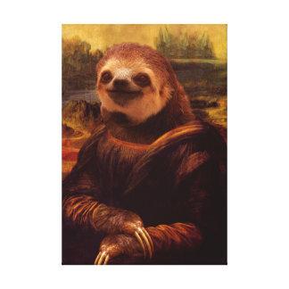 Mona Lisa Trägheit Leinwanddruck