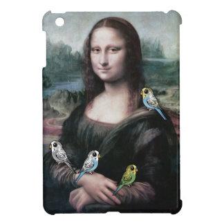 Mona Lisa u. Budgies iPad Mini Hülle
