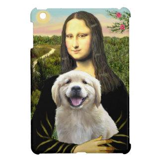 Mona Lisa und ihr golden retriever-Welpe iPad Mini Hülle