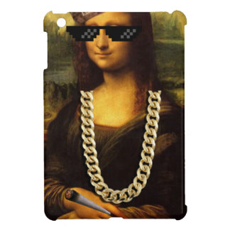 Mona Lisa Verbrecher-Leben-Kunst-Leben iPad Mini Hülle