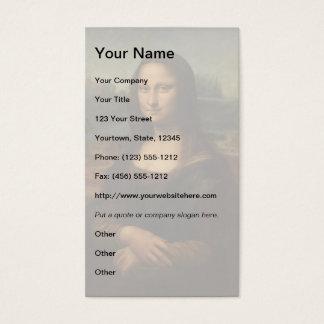 Mona Lisa Visitenkarte
