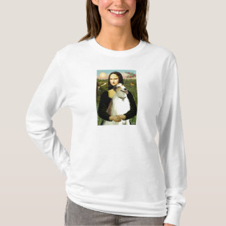 Mona Lisas Borzoi T-Shirt