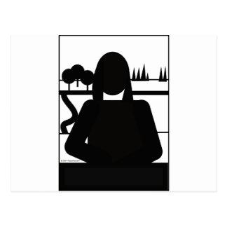 Mona Picto Postkarte