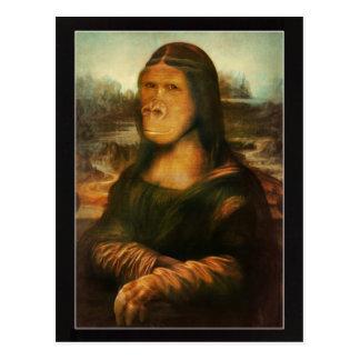 Mona Rilla alias Mona Lisa Postkarte