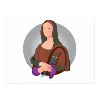 Mona-Stricks Postkarte