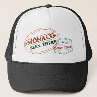 Monaco dort getan dem truckerkappe