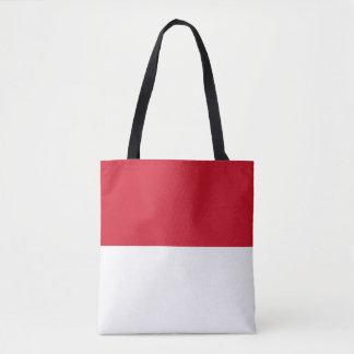 Monaco-Flagge Tasche