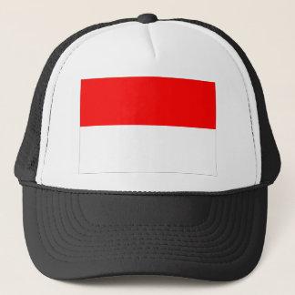 Monaco-Flagge Truckerkappe