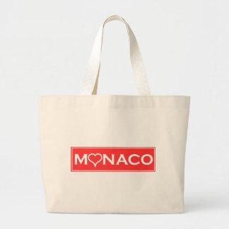 Monaco Jumbo Stoffbeutel