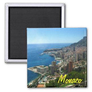 Monaco-Kühlschrankmagnet Quadratischer Magnet