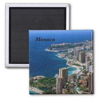 Monaco - quadratischer magnet