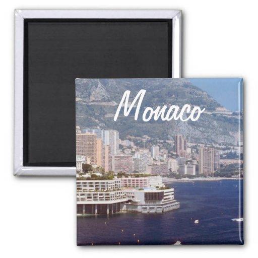 Monaco-Reise-Foto-Andenken-Kühlschrankmagnete