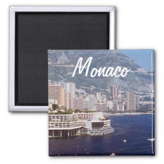 Monaco-Reise-Foto-Andenken-Kühlschrankmagnete Quadratischer Magnet