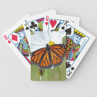 Monarch auf Kosmos Bicycle Spielkarten