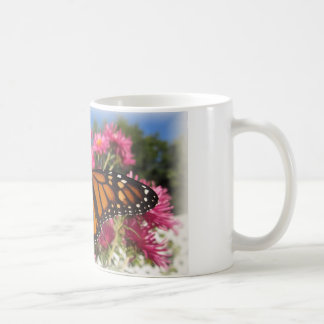 Monarch-Flügel - mit weißer Vignette Kaffeetasse