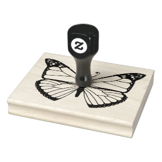 Monarch -- (Groß) Gummistempel