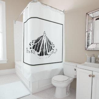 Monarch-Kontur Duschvorhang