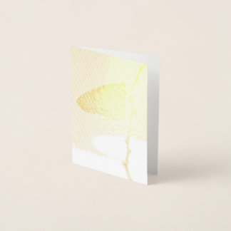Monarch-morgens Licht Folienkarte
