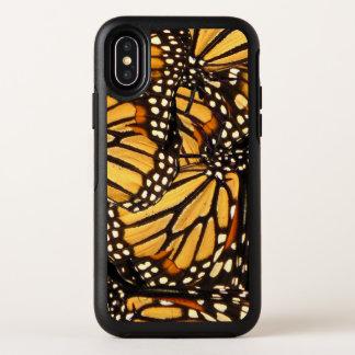Monarch-Schmetterling abstrakter OtterBox iPhone X OtterBox Symmetry iPhone X Hülle