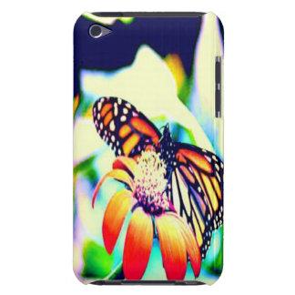 Monarch-Schmetterling auf Blume Case-Mate iPod Touch Hülle