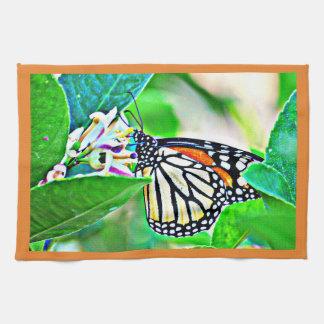 Monarchfalter-Geschirrtuch Handtuch