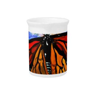 Monarchfalter Getränke Pitcher