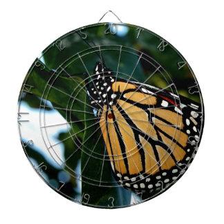 Monarchfalter in den Fliedern Dartscheibe