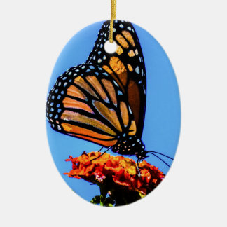 Monarchfalter Keramik Ornament