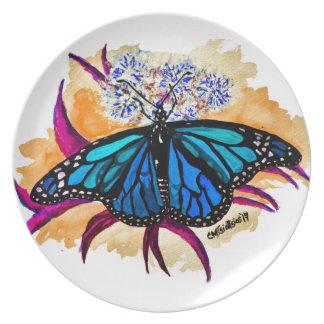 Monarchfalter Melaminteller