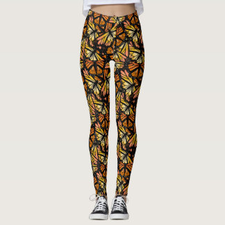 MONARCHFALTER-MUSTER durch Slipperywindow Leggings