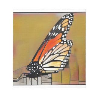 Monarchfalter Notizblock