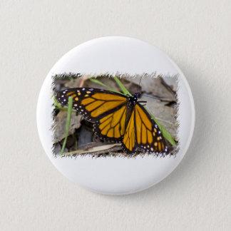 Monarchfalter Runder Button 5,1 Cm