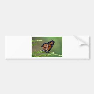 Monarchfalter-Schönheit Autoaufkleber