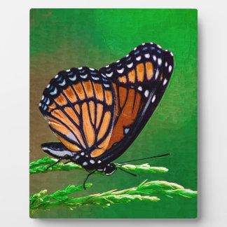 Monarchfalter-Schönheit gemalt Fotoplatte