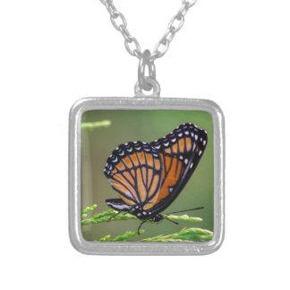 Monarchfalter-Schönheit Versilberte Kette