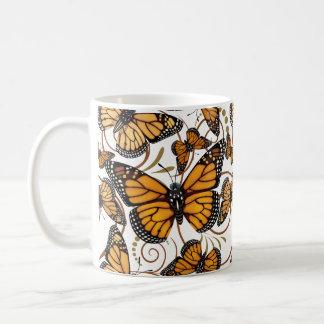 Monarchfalter-Strudel Kaffeetasse