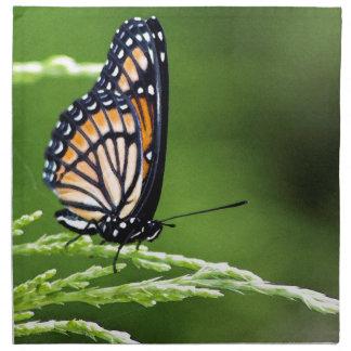 MonarchfalterDanaus plexippus Stoffserviette