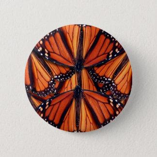 Monarchfalterkunst Runder Button 5,7 Cm