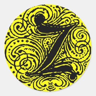 "Monarchia ""Z "" Runder Aufkleber"